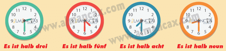 German Half-Hour Examples