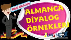Türkçe Almanca Diyaloglar, Almanca Karşılıklı Konuşmalar