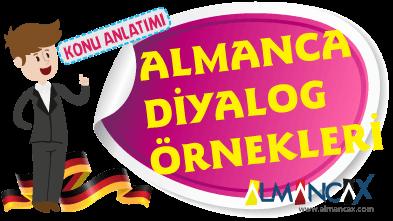 Almanca Türkçe Diyaloglar, Karşılıklı Konuşmalar
