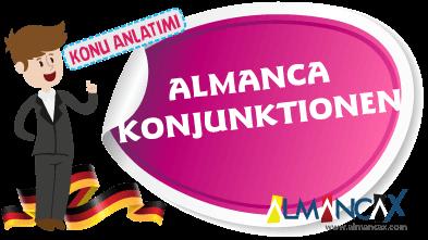 Almanca Konjunktionen