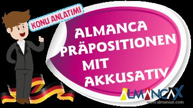Almanca Präpositionen mit Akkusativ