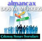 2009 KPSS Yabancı Dil ve Almanca Soru ve Cevapları
