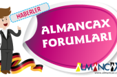 ALMANCAX FORUMLARI