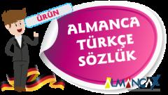 Almanca Türkçe Sözlük