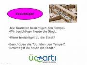 Almanca Ayrılamayan Fiiller Nicht Trennbare Verben