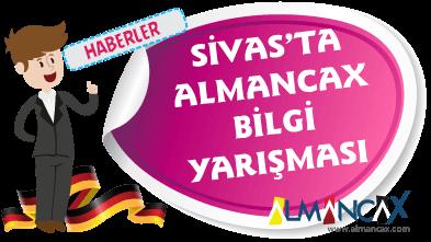 Sivas'ta Ödüllü Genel Almanca Sınavları Yapıldı
