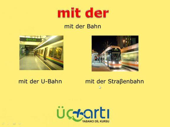 Almanca Mit (ile) Bağlacı Video Ders Anlatımı