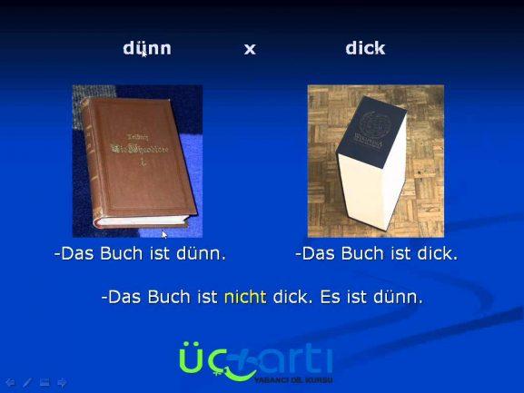 Almanca Sein Fiili ve Sein Fiilinin Sıfatlarla Kullanımı