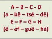 Great German Alphabet Song, Das deutsche Alphabet