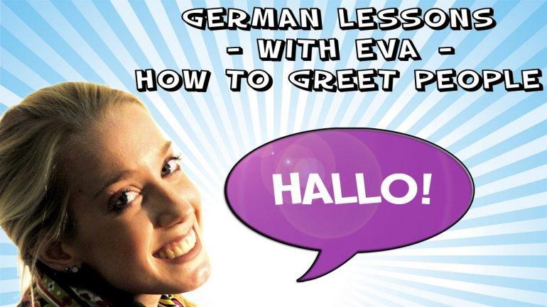 İngilizce Anlatımlı Almanca Dersleri Learn German 1