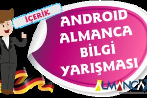 Android Almanca Bilgi Yarışması