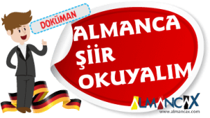 Almanca Şiirler ve Türkçeleri
