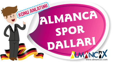 Almanca Sporlar, Almanca Spor Dalları