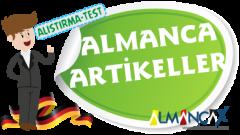 Almanca Artikeller İle İlgili Alıştırmalar