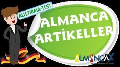 Almanca Artikeller ve Artikeller İle İlgili Alıştırmalar