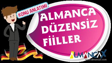 Almanca Düzensiz Fiiller Listesi
