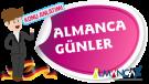 German nga mga Adlaw, Adlaw sa German nga Semana (Wochentage)