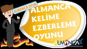 Almanca Kelime Ezberleme, Yürüyen Kelimeler Oyunu