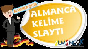 Almanca Türkçe Kelimeler Slaytı