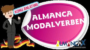 Almanca Modalverben, Almanca Kip Belirteçleri, Modalverbler