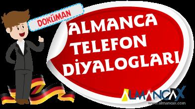 Almanca Telefon Diyalogları