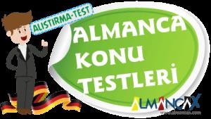 Almanca Testler