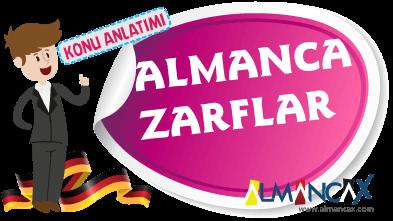 Almanca Zarflar, Almanca Belirteçler
