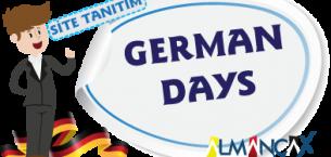 German Days, Days of the week in German