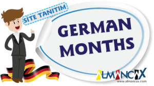 German Months, Months of the Year in German