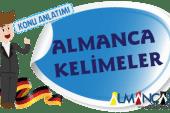 Almanca Kelimeler
