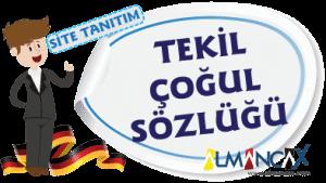 German Singular Turkish Pluralism Dictionary