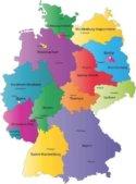 Almanya'nın Eyaletleri – Bundesländer Deutschland